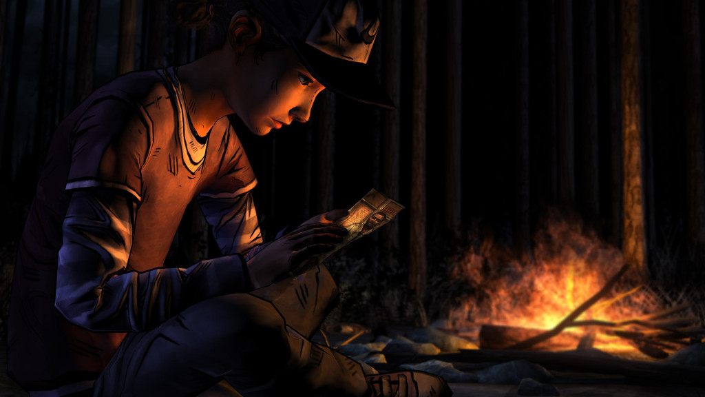 walking dead clem fire