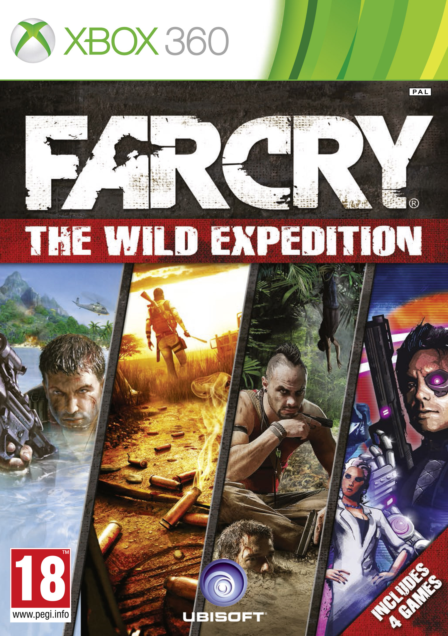 FarCryWildExpeditions_Xbox360_2D_PEGI18
