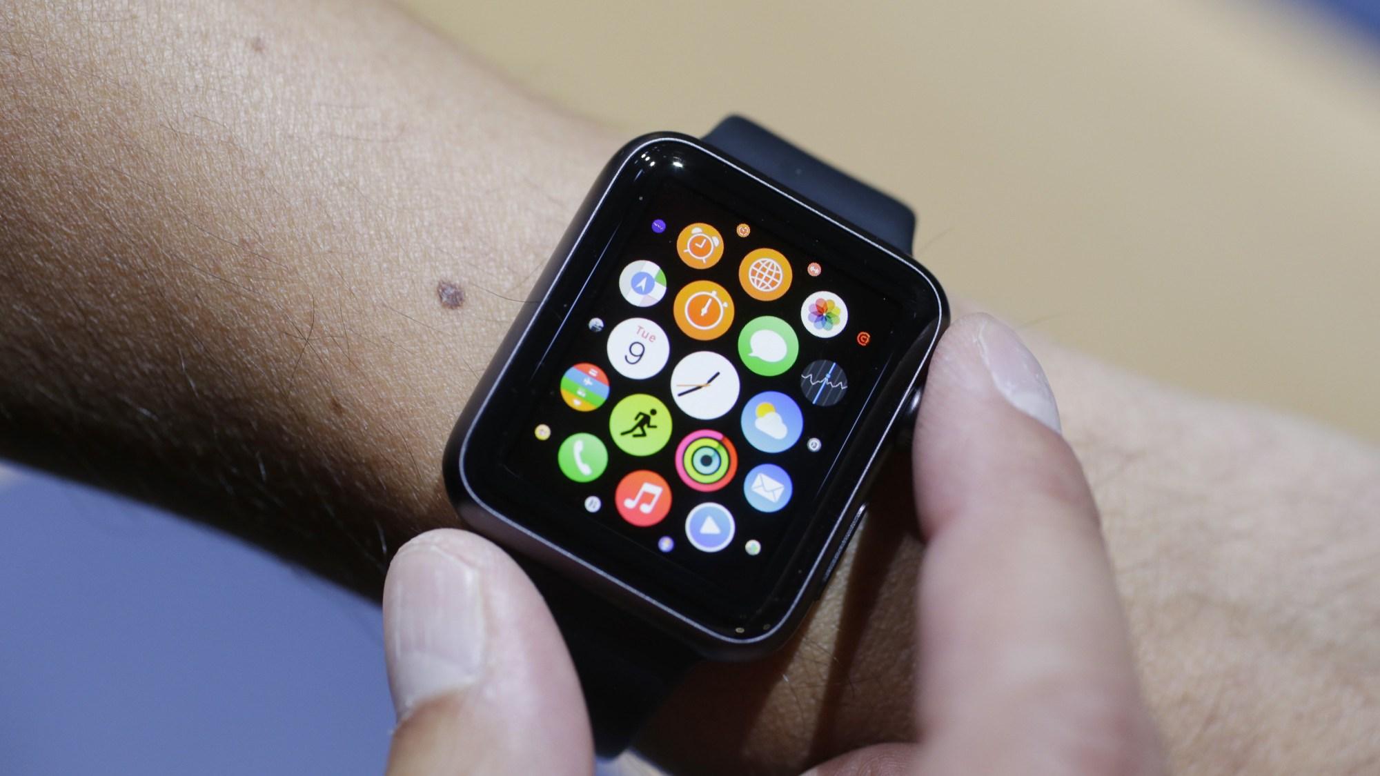 Apple Watch am Handgelenk: Schwacher Akku?