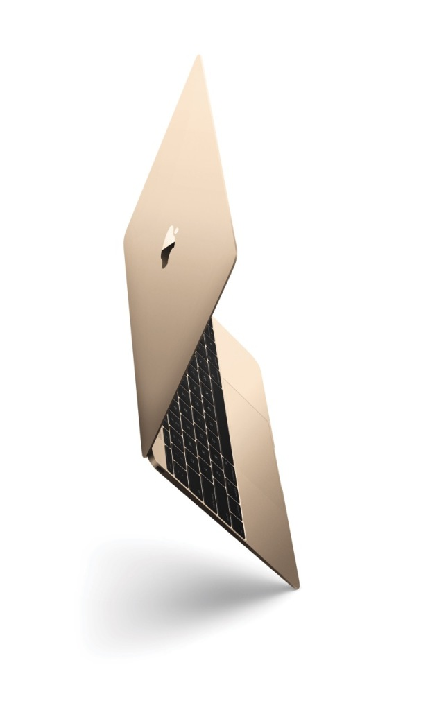 Gold MacBook Retina Display Ansicht