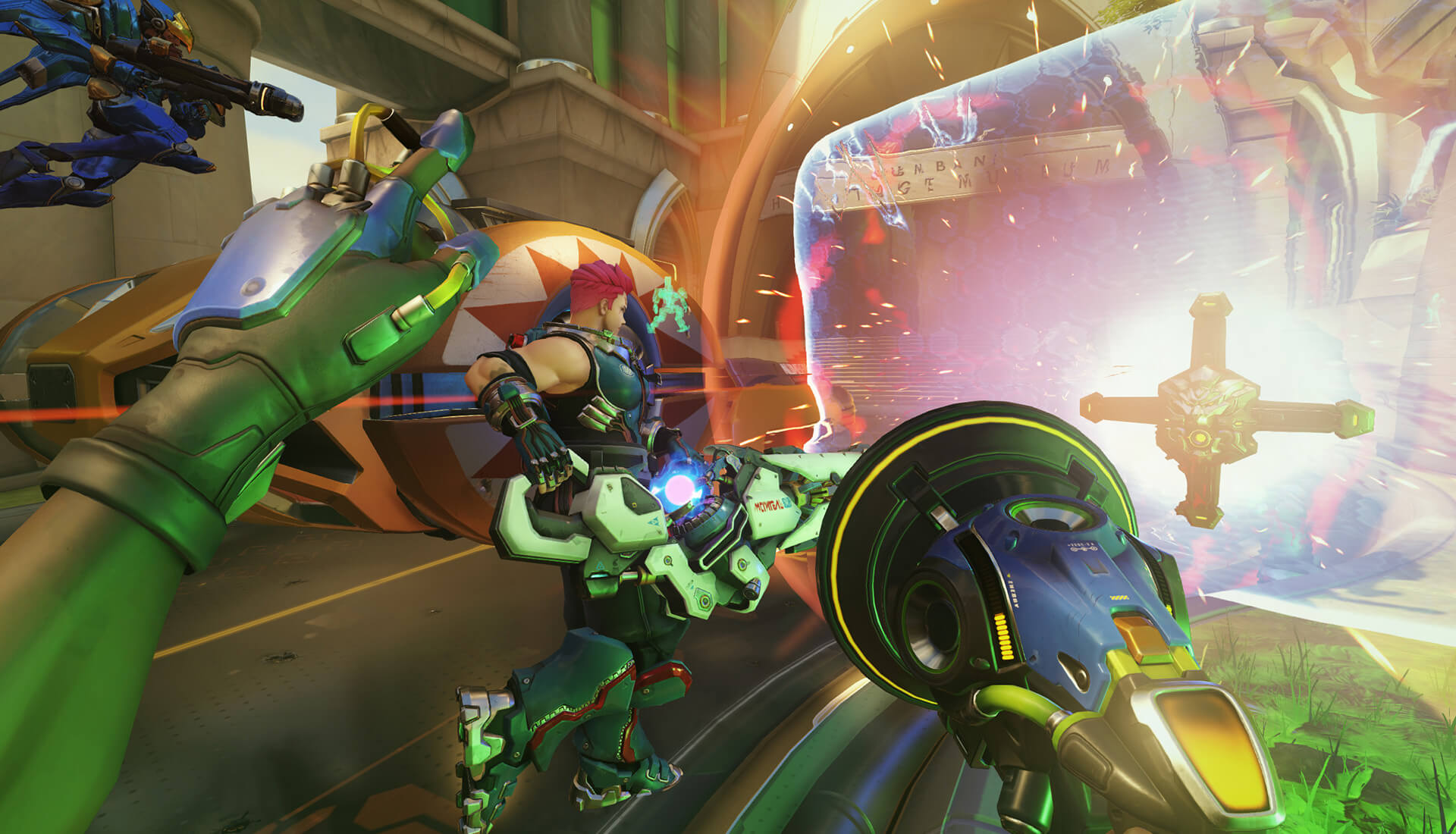 Overwatch Lucio Screenshot