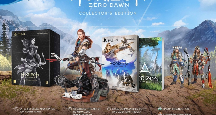 <em>Horizon: Zero Dawn</em> – Unboxing der Collector's Edition