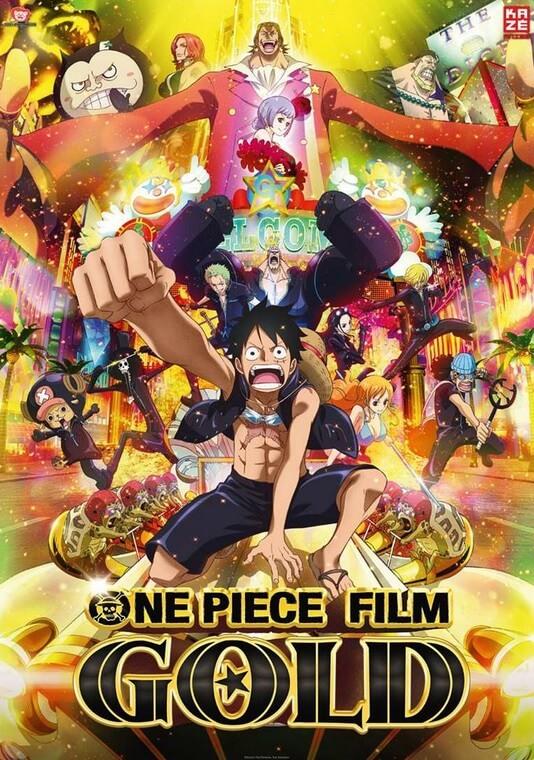 Anime Movie Night One Piece Gold Ich War Dabei