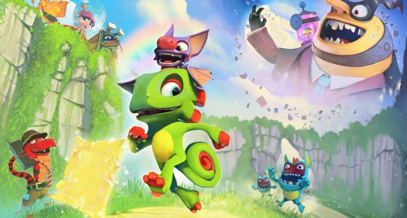 <em>Yooka Laylee</em>: Multiplayer-Gameplay-Video veröffentlicht