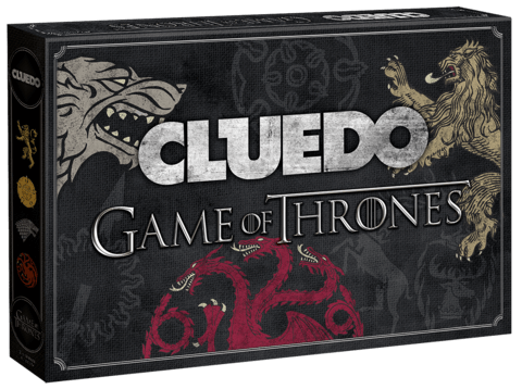 Winning Moves kündigen <em>Cluedo Game of Thrones</em> an