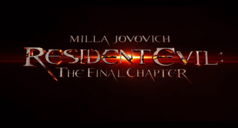 Neuer Trailer zu <em>Resident Evil: The Final Chapter</em> erschienen