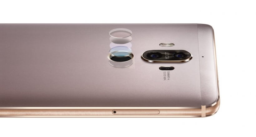 Das <em>Huawei Mate 9</em> ist ab sofort erhältlich