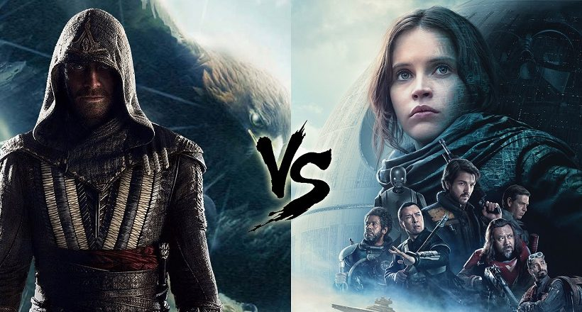 Top oder Flop: <em>Rogue One</em> vs. <em>Assassin's Creed</em> im Faktencheck
