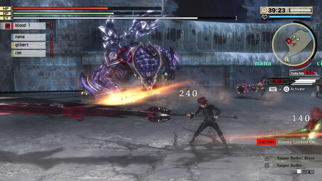 God Eater 2 Rage Burst Test