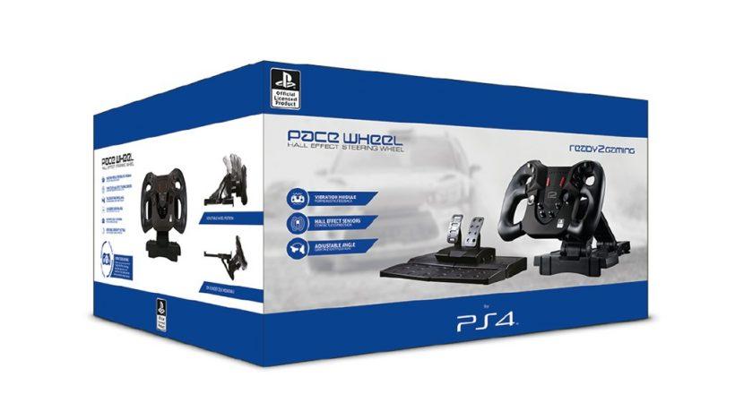 Play Art veröffentlicht <em>ready2gaming PS4 Pace Wheel</em>