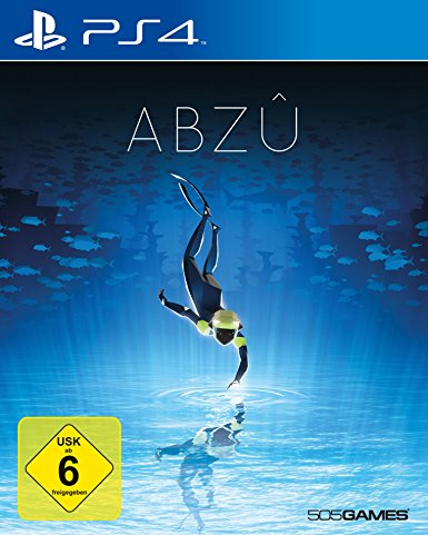 ABZÛ - PS4 Cover