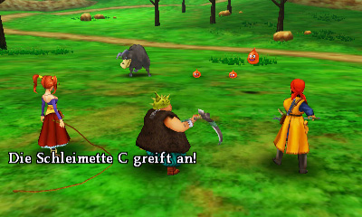 dragon quest 8 kampf