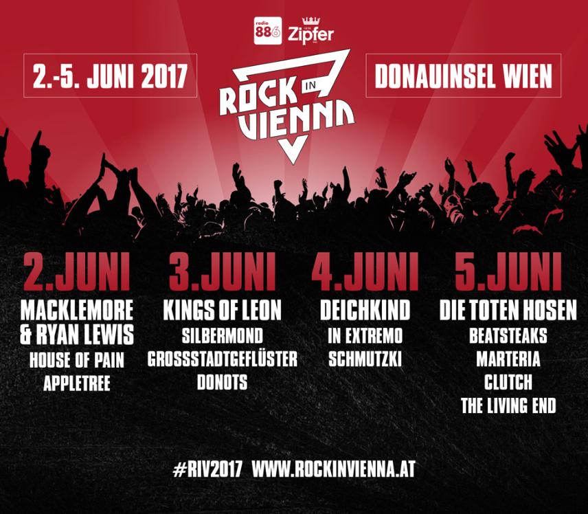 Bildergebnis für rock in Vienna 2017