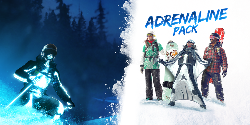 Steep Adrenalin Paket