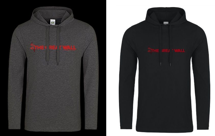 The Great Wall Hoodies