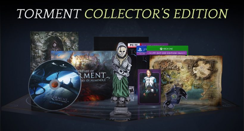 <em>Torment: Tides of Numenera</em>-Collector's Edition enthüllt