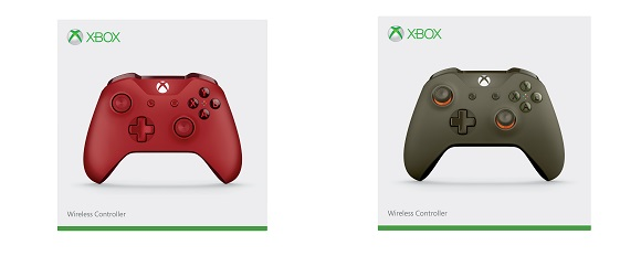 Xbox Wireless Controller Designs