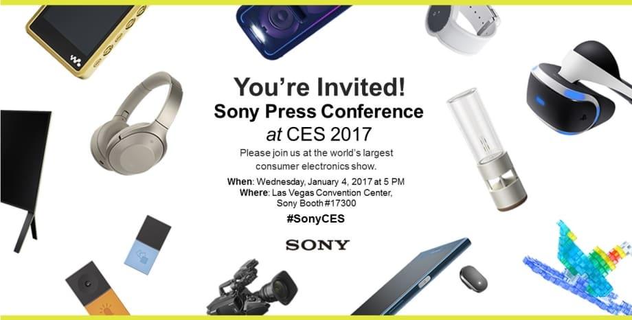 CES 2017 Sony Live Stream