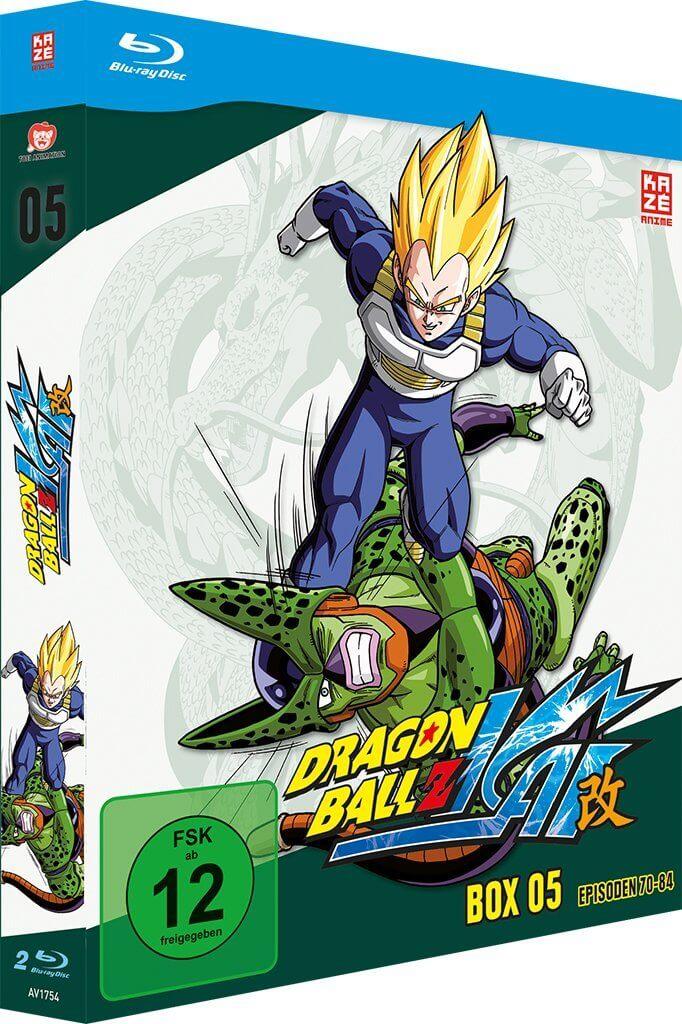 Dragonball Z Kai Box 5 Test – Cell, das Monster - Beyond Pixels