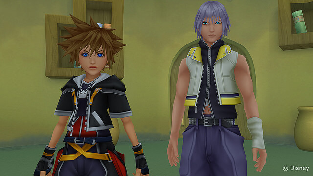 Kingdom Hearts Dream Drop Distance ingame Bild