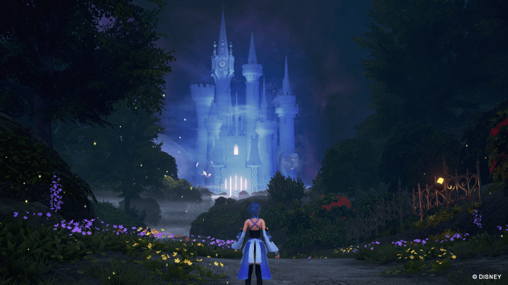 Kingdom Hearts Birth by Sleep ingame Bild