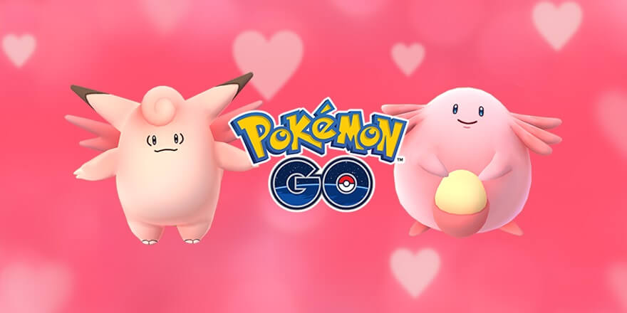 Pokemon Go Valentinstag Event
