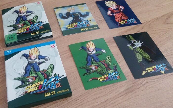 <em>Dragonball Z Kai Box 5</em> Test – Cell, das Monster