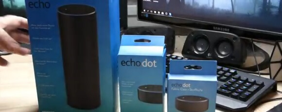 Chris packt aus: Das <em>Amazon Echo</em>-Unboxing-Video