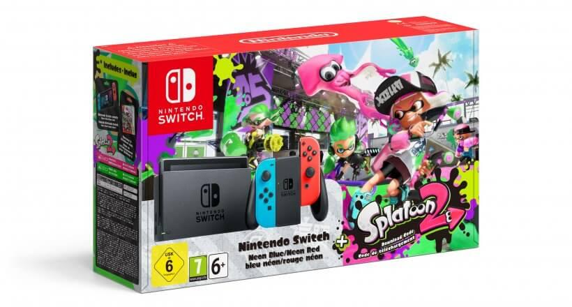 <em>Nintendo Switch Splatoon 2 Bundle</em> angekündigt