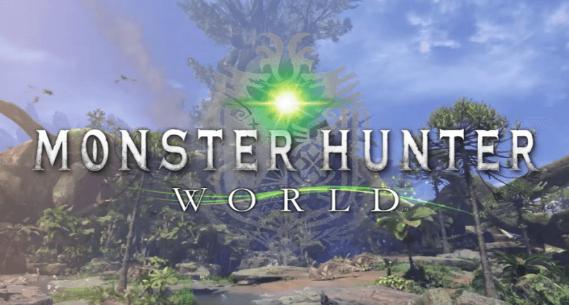 Bombastischer <em>Monster Hunter World</em>-gamescom-2017-Trailer