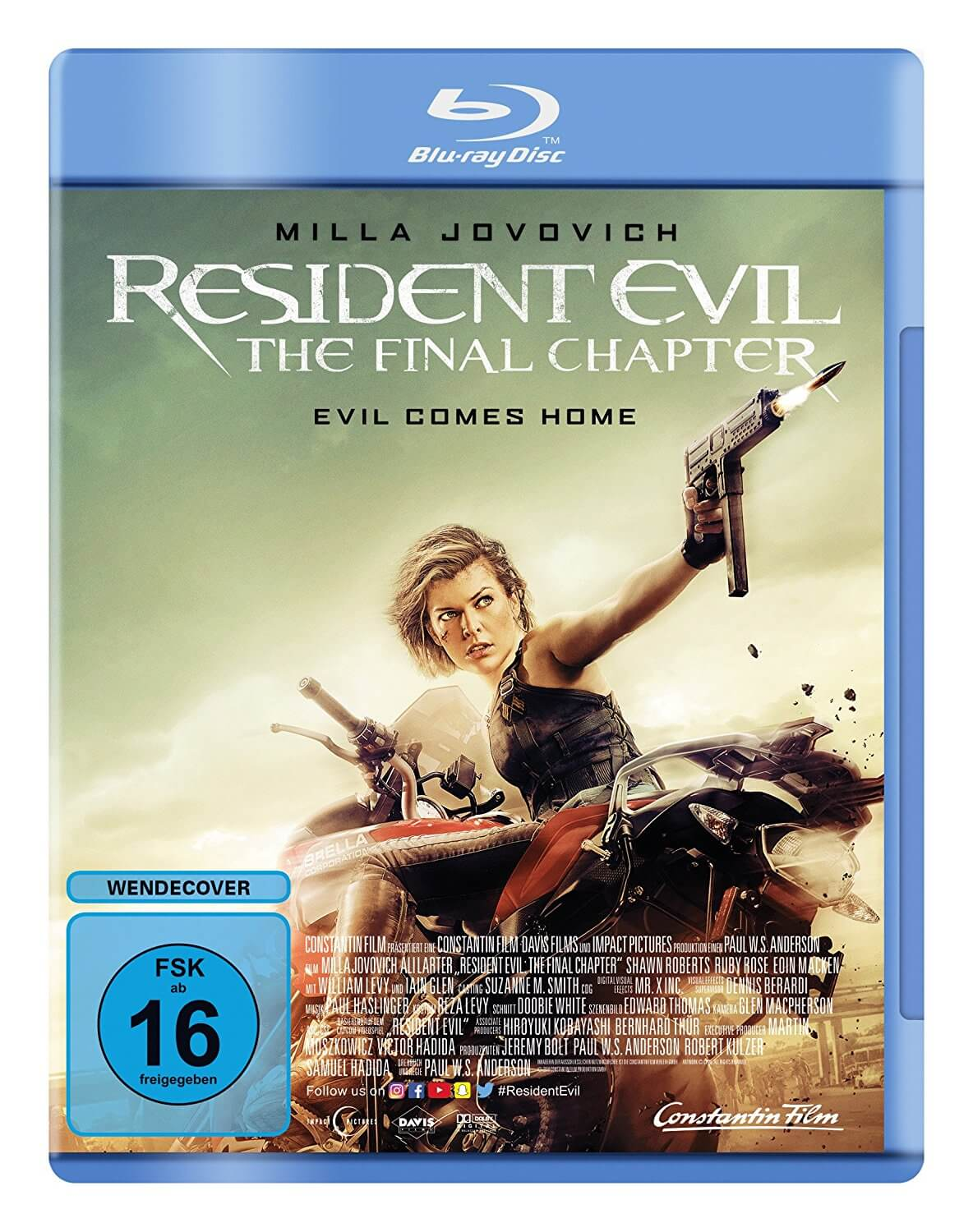 Resident Evil: The Final Chapter Gewinnspiel
