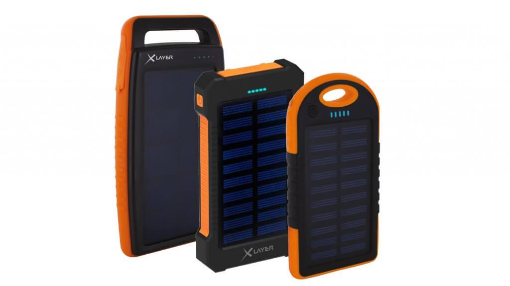 xlayer pr sentiert neue solar powerbanks f r alle beyond. Black Bedroom Furniture Sets. Home Design Ideas