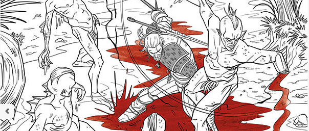 Dark Horse bringt im Herbst ein The Witcher-Malbuch heraus. - Beyond ...