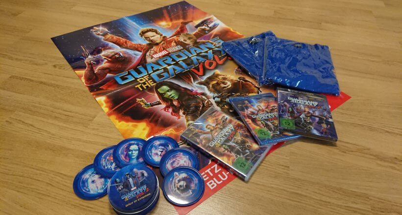 <em>Guardians of the Galaxy 2</em> Gewinnspiel: Staubt Goodies & den Film ab