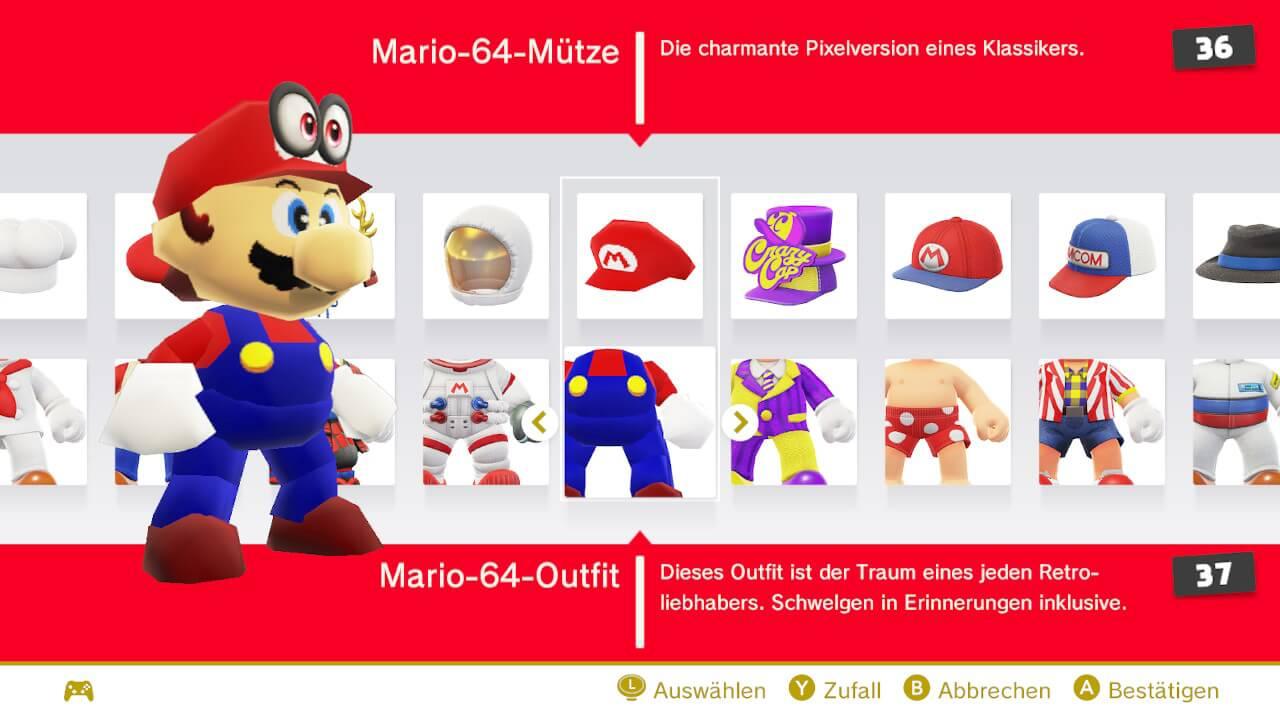 Alle Super Mario Odyssey Outfits Fundorte Und Preise Beyond Pixels