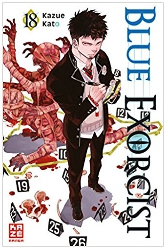 Blue Exorcist 18 Cover