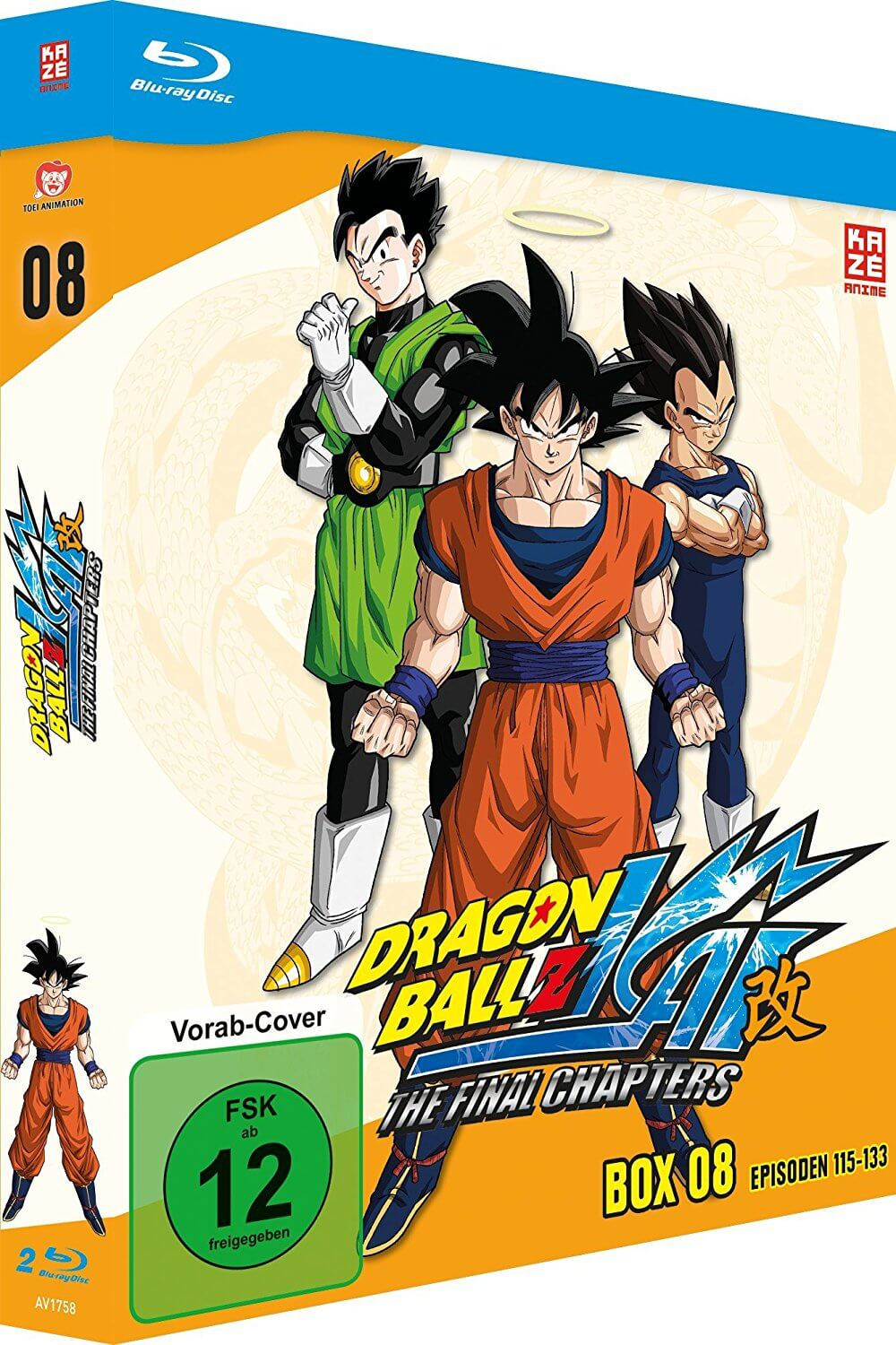 Dragonball Z Kai Box 8 Test