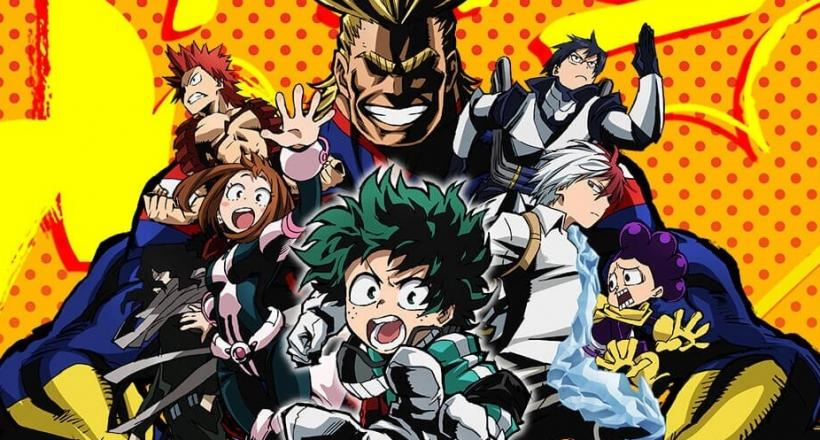 My Hero Academia Staffel 1 Netflix