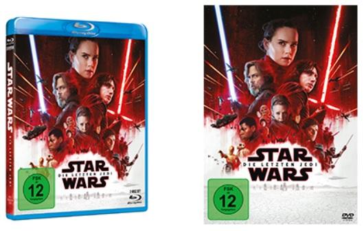 Star Wars 8 Die Letzten Jedi Ab 2642018 Auf Dvd Und Blu Ray