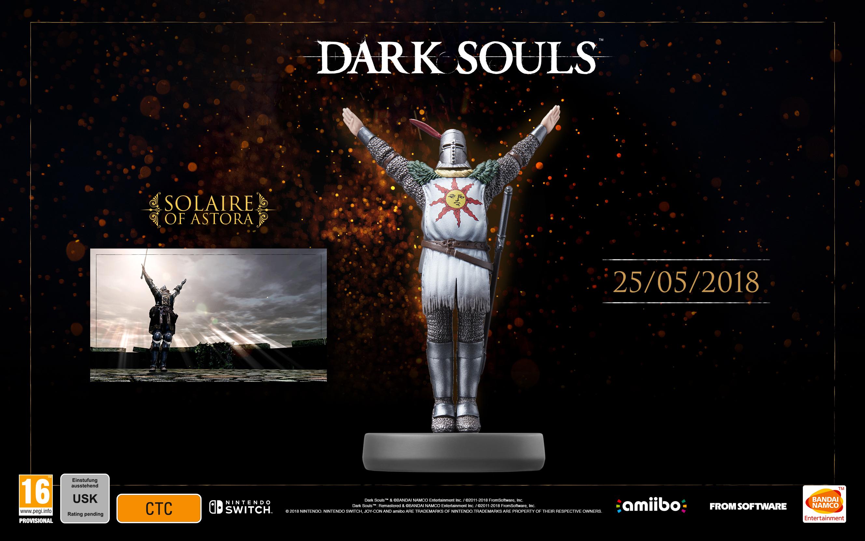 Dark Souls Remastered: Solaire von Astora-amiibo angekündigt ...