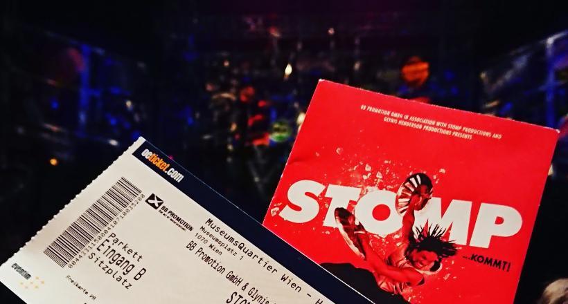 Stomp Premiere Wien 2018