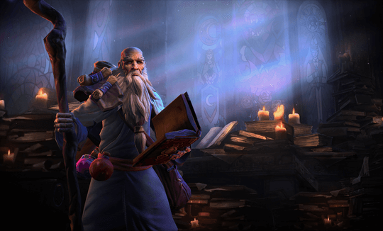 Heroes of the Storm Deckard Cain HotS