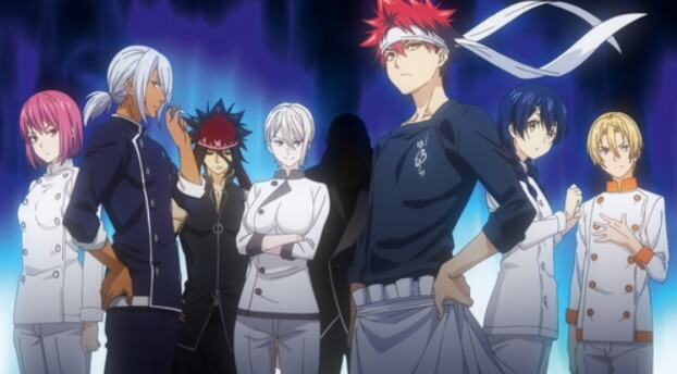 Food Wars! The Second Plate Trailer