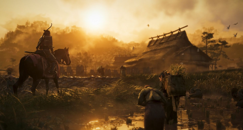 Ghost of Tsushima Launch-Trailer