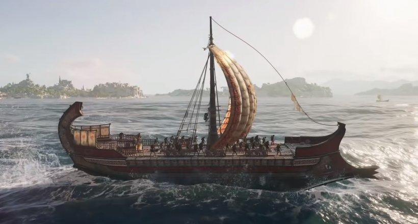 Assassin's Creed Odyssey Seeschlachten Gameplay Video neu