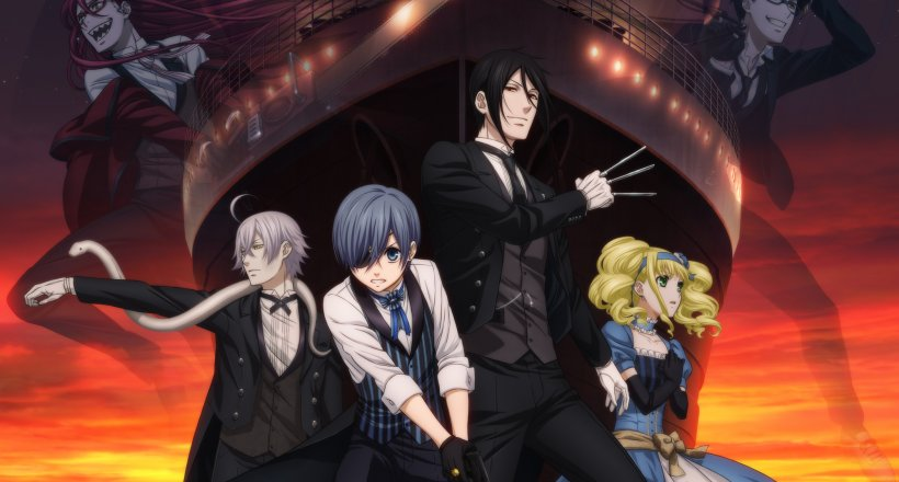 Black Butler: Book of the Atlantic Kaze Anime Nights 2018