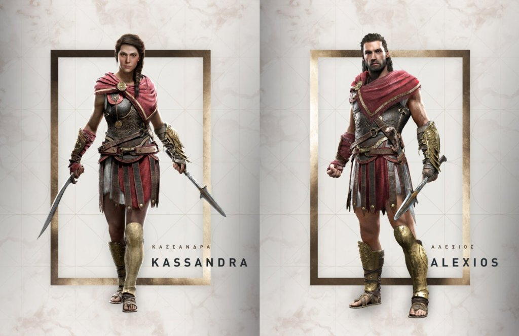 ac odyssey characters