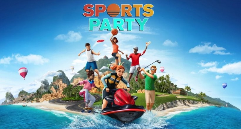 Sports Party Switch Release Trailer Reveal