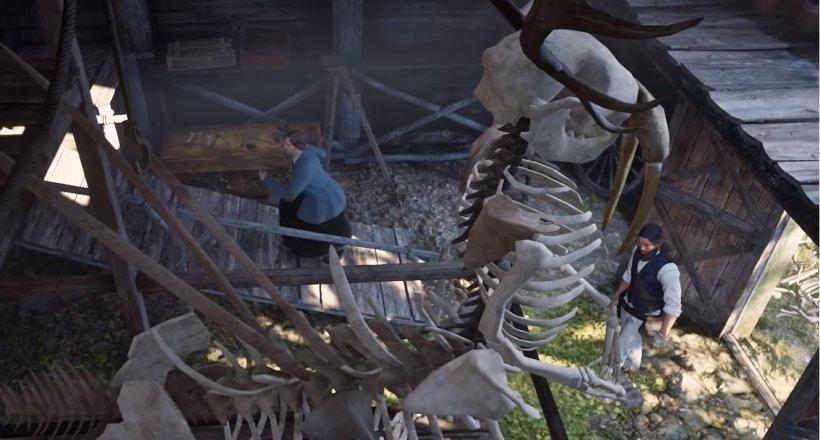 Red Dead Redemption 2 Dinosaurierknochen Guide Video
