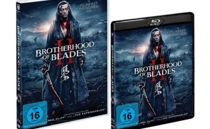 Brotherhood of Blades 2 Release DVD Blu-ray